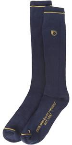 2021 Dubarry Boot Socks Long Navy 9624