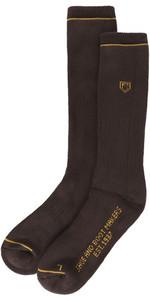 2019 Dubarry Boot Socks Short Brown 9625