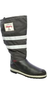2021 Dubarry Crosshaven Gore-Tex Sailing Boots Navy Leather / Grey Cordura 3963