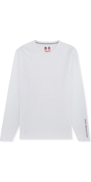 2018 Musto Evolution Sunblock Long Sleeve T-Shirt White EMTS020