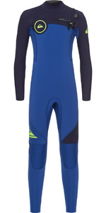 Quiksilver Boys Syncro 3/2mm Chest Zip Wetsuit Nite Blue / Blue Ribbon EQBW103019