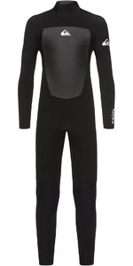 Quiksilver Boys Prologue 3/2mm Back Zip Wetsuit Black EQBW103039