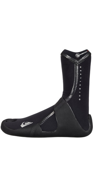 2018 Quiksilver Junior Highline Lite 5mm Split Toe Boots Black EQBWW03001