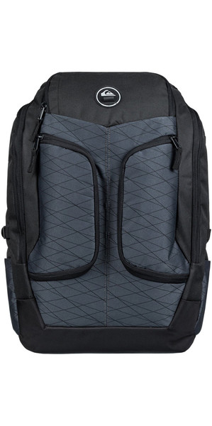 2018 Quiksilver Rambbler 29L Large Surf Back Pack Black EQYBP03486