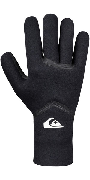 2018 Quiksilver Syncro + 3mm Neoprene Gloves Black EQYHN03057