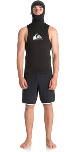 2018 Quiksilver Syncro Plus Thermal Vest with Neo Hood Black EQYW003000