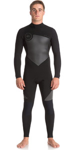 Quiksilver Syncro 4/3mm Back Zip Wetsuit Jet Black EQYW103041