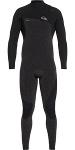 Quiksilver Highline 4/3mm Zipperless Wetsuit Black EQYW103061