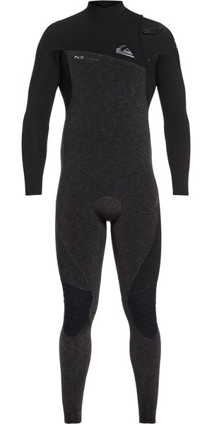 2018 Quiksilver Highline 4/3mm Zipperless Wetsuit Black EQYW103061