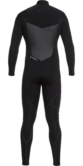 Quiksilver Highline Plus 3/2mm Chest Zip Wetsuit Black EQYW103060