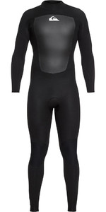 2021 Quiksilver Prologue 3/2mm Back Zip FL Wetsuit Black EQYW103068