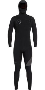 Quiksilver Syncro 5/4/3mm Hooded Chest Zip Wetsuit Black / Jet Black EQYW203005
