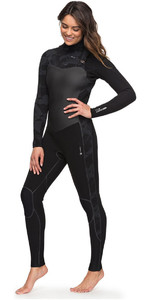 Roxy Womens Performance 4/3mm Chest Zip Wetsuit Black ERJW103032