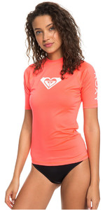 2018 Roxy Womens Wholehearted Short Sleeve Rash Vest ODALISCA ERJWR03219