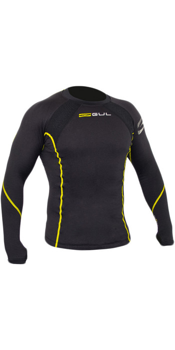 Gul Evotherm Thermal Long Sleeve Top & Long John Combi Set - Black