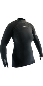 2021 Gul Womens Evotherm Ladies Thermal Long Sleeve Top Ev0050-B9 Black