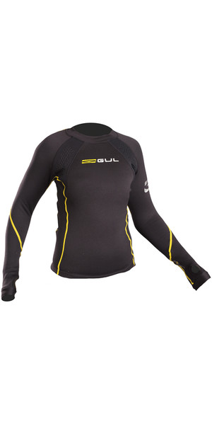 2019 GUL Evotherm Junior Thermal Long Sleeve Top BLACK EV0062-B3