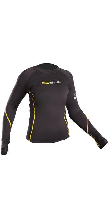2020 GUL Evotherm Junior Thermal Long Sleeve Top BLACK EV0062-B3