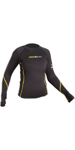 2021 Gul Junior Evotherm Long Sleeve Thermal Top Ev0062-B9 Black