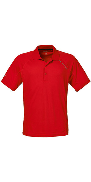 Musto Evolution Sunblock Short Sleeved Polo Top TRUE RED SE0264