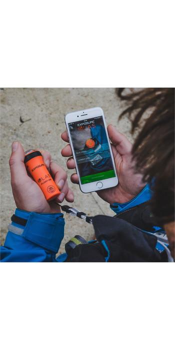 2020 Exposure Olas Smart Float-On Compact MOB Alarm, Strobe & Torch EXPOLASFLOATON
