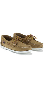 2019 Henri Lloyd Arkansa Deck Shoe Brown Nubuck F94412