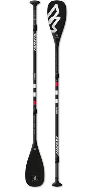 2018 Fanatic Carbon 35 Adjustable 3-Piece SUP Paddle 165-220cm Black