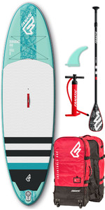 2019 Fanatic Diamond Air 10'4 Inflatable SUP Package 1133 - Blue