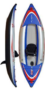 Z-Pro Flash 1 Man High Pressure Inflatable Kayak FL100 - Kayak Only
