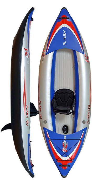 Z-Pro Flash 1 Man High Pressure Inflatable Kayak FL100 - Kayak Only