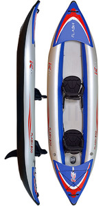 Z-Pro Flash 2 Man High Pressure Inflatable Kayak FL200 - Kayak Only