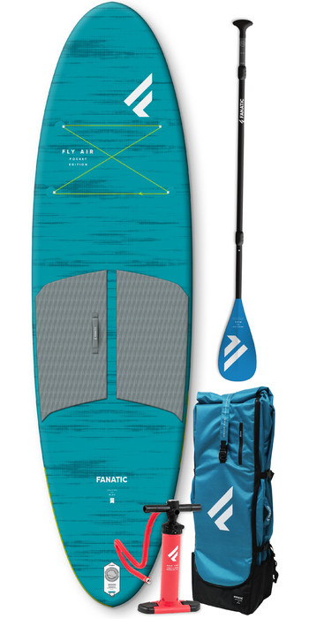 2021 Fanatic Fly Air Pocket 10'4 SUP Package - Pure Paddle 13200-1761