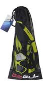 2020 Gul Tarpon ADULT Mask / Snorkel & FIN Set in Yellow / Black GD0003