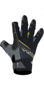 2021 Gul CZ Summer 3-Finger Glove Black GL1241-B6
