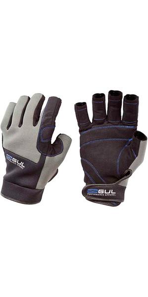 2018 Gul Junior Winter SHORT Finger Gloves Black / Charcoal GL1242
