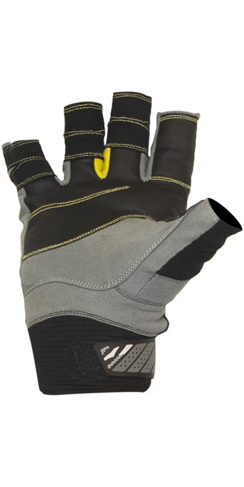 2021 Gul CZ Summer Short Finger Glove Black GL1243-B6