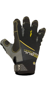 2020 Gul Junior CZ Summer Short Finger Glove Black GL1243-B6