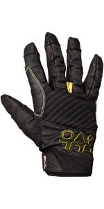 2020 Gul Junior EVO Pro Full Finger Sailing Glove Black GL1301-B4