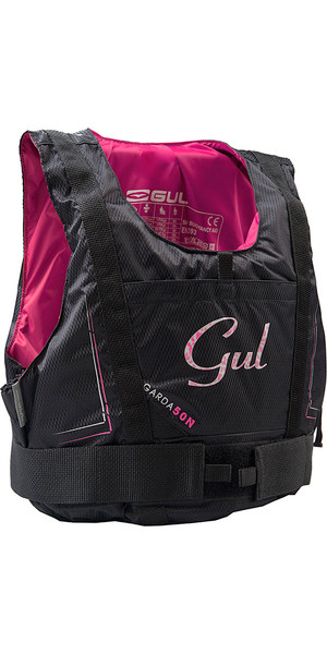 2018 Gul Womens Garda 50N Buoyancy Aid BLACK / PINK GM0162-A7