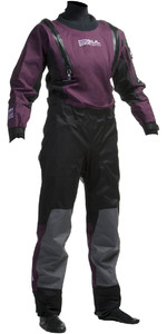 Gul Ladies Code Zero U-ZIP Drysuit Black / Plum GM0373
