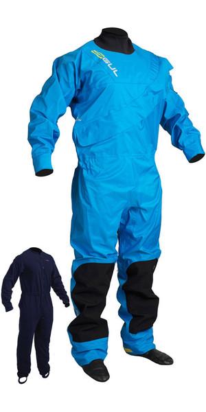 2018 GUL Dartmouth Eclip Zip Drysuit BLUE GM0378-B3 WITH FREE UNDERSUIT