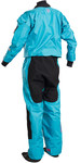 2019 GUL Womens Dartmouth Eclip Zip Drysuit BLUE GM0383-B5 INCLUDING UNDERFLEECE