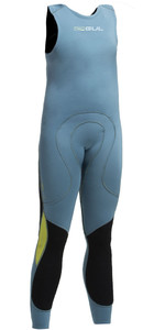 2019 Gul Code Zero Junior 1MM Flatlock Long John Wetsuit Pewter CZ4315-B2