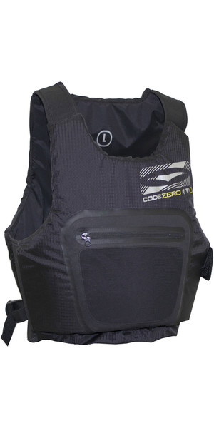 2018 GUL Junior Code Zero Evo Buoyancy Aid BLACK GM0379-A9