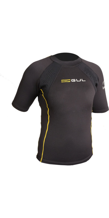 2021 Gul Junior Evotherm Thermal Short Sleeve Top Ev0063-B9 Black