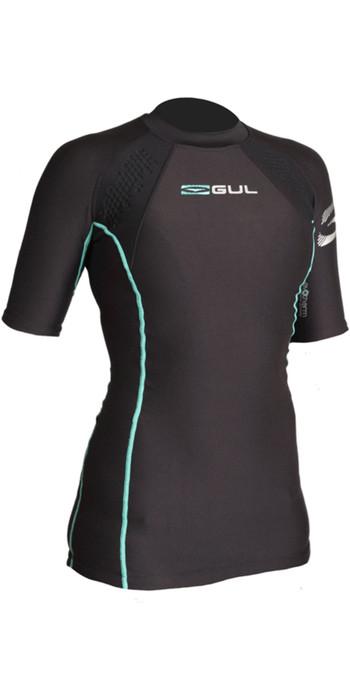 2021 Gul Womens Evotherm Ladies Thermal Short Sleeve Top Ev0052-B9 Black