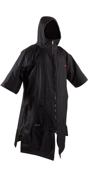 2021 GUL Junior Evorobe Change Robe / Poncho AC0128-B6 - Black / Red