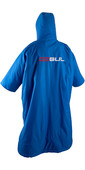 2021 GUL Junior Evorobe Change Robe / Poncho AC0128-B6 - Blue / Grey