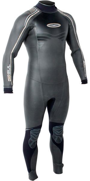 Gul Delta 5/3mm WINDSURF Back Zip Wetsuit BLACK / SILVER DETAIL DE1204