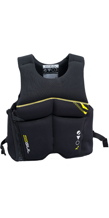 2021 GUL EVO2 50N Buoyancy Aid Black GM0382-B3